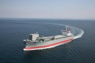 セルフアンローダー船(JPコスモス)